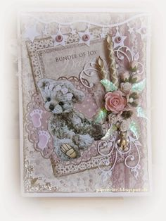 Hand Made Greeting Cards, Making Greeting Cards, Paper Lace, Creative Inspiration, Decorative Boxes, Projects To Try, Paper Crafts, Card Making, Handmade