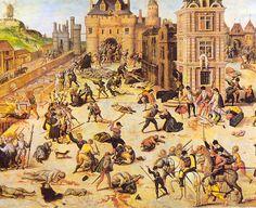 Hugenoten is de benaming die in de 16e, 17e en 18e eeuw in Frankrijk werd gegeven aan protestanten. De hugenoten werden in 1685 in Frankrijk vervolgd door Lodewijk XIV (vanwege hun geloof) , vele tienduizenden van hen kwamen naar de Hollandse steden. Ze vluchtte naar Nederland vanwege de vrijheid naar, want daar is er godsdienst vrijheid.