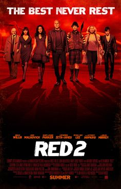 Red 2 #Movie #Poster