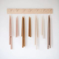 Taper Candles - Petal Pink – connectedgoods.com...