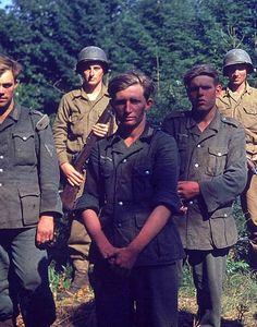 German prisoners in Normandy