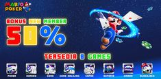 MarioPoker Situs Link Alternatif Resmi Mario Poker Online Situs Agen Bandar IDNPoker PKVGames 100% Uang Asli Terpercaya ! Poker Bonus, Mario, Games, Gaming, Toys