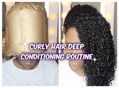 Kelsey's  Updated CURLY HAIR Deep Conditioning Routine