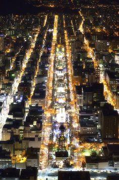 Sapporo, beautiful my hometown