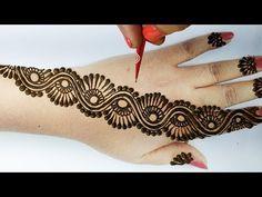 Black Mehndi Designs, Mehndi Designs Finger, Mehndi Designs For Kids, Latest Bridal Mehndi Designs, Back Hand Mehndi Designs, Simple Arabic Mehndi Designs, Henna Art Designs, Mehndi Design Photos, Mehndi Designs For Fingers