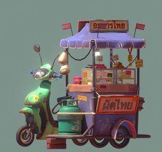 ArtStation - Street Food, Oleg Tikounov