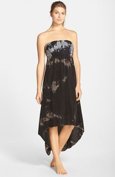 Hard Tail Strapless High/Low Dress | Nordstrom
