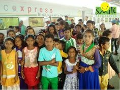 Children from Smile Foundation's Mission Education centre MITWA in Bilaspur, Chhattisgarh, had an amazing experience as they went on board the Science Express Biodiversity Special (SEBS), which had made a stop at the Bilaspur Station.  To help continue their education, please visit – www.smilefoundationindia.org/me