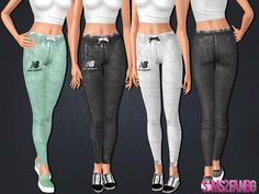 .:462 - Athletic pants:.  Found in TSR Category 'Sims 3 Female Clothing'
