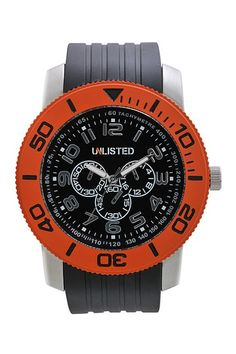 Unlisted Watches by Kenneth Cole Watches  Men's Black Dial Watch