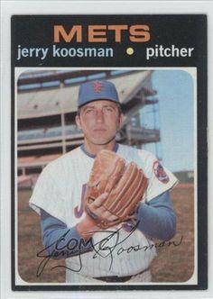 Jerry Koosman New York Mets (Baseball Card) 1971 Topps #335 by Topps. $1.50. 1971 Topps #335 - Jerry Koosman