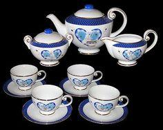 Danbury Mint Pillsbury Doughboy Collectibles Tea Set