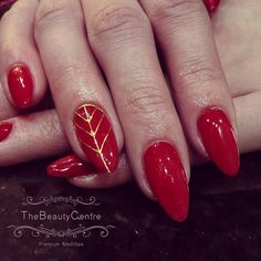 Stiletto gel extensions. #nails #nailart #manicure #polish #red #extensions #gelnails #gelish #the #beauty #centre #braintree #essex for more information visit www.thebeautycentrebraintree.co.uk