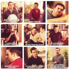 Nick from New Girl. I heart him