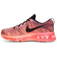 ec299e1d197c Nike Women s Flyknit Air Max Running Sneakers from Finish Line ( 200) ❤  liked on