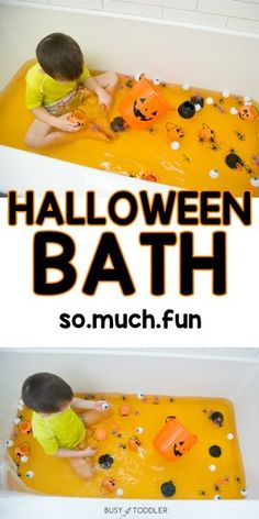 Halloween Activities For Toddlers, Infant Activities, Fun Activities, Halloween Crafts For Kids, Baby Halloween, Diy Toddler Halloween Costumes, Baby Sensory Play, Halloween Supplies, Halloween Traditions