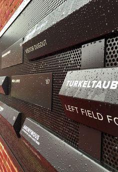 Johns Hopkins University Babb Field at Stromberg Stadium Donor Recognition – Ashton Design