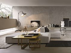 Sectional upholstered modular sofa FREESTYLE - MOLTENI & C.