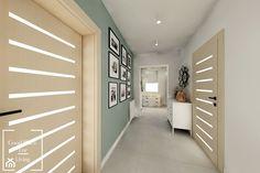 Salon z aneksem - Tymbark - Hol / przedpokój, styl nowoczesny - zdjęcie od Good Place For Living Eclectic Living Room, Bathtub, Closet, House, Inspiration, Home Decor, Design, Euro, Interiors