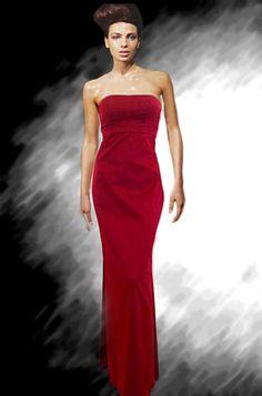 שמלות ערב אדומות דגם R20131