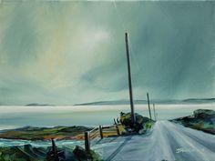Looking West Isle Of Arran, Art Paintings, Painting Art, Art Drawings