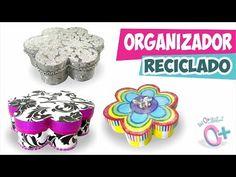 RECICLAJE✔ Organizador JOYERO de Flor ★Así o más fácil★ - YouTube