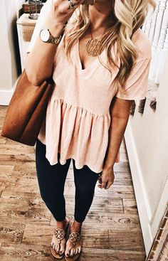 I N S T A G R A M - ans ☼ Trendy outfits for summer outfits casual fashion ideas casual summer style Sexy Casual Style Looks Mode Outfits, Casual Outfits, Fashion Outfits, Fashion Ideas, Black Outfits, Fashion Trends, Casual Summer Outfits For Work, Outfit Ideas Summer, Peplum Top Outfits