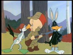 http://pinterest.com/pin/493496071647818715/ Hunting Season with Bugs Bunny…