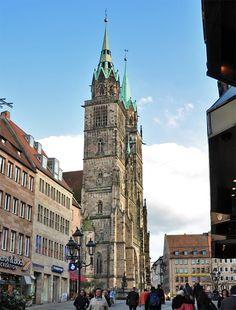 St. Lorenz-Kirche in Nürnberg ,Germany