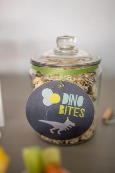 Dino Bites from a Modern Dinosaur Birthday Party on Kara's Party Ideas   KarasPartyIdeas.com (29)
