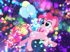 MLP pinkie pie in SPARKLES