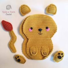 gratis free:Ragdoll Lion Free Crochet Pattern Hi everyone! Im back with the next addition to our Ragdoll collection. We are starting to build up quite the eclectic assortment of fuzzy friends! Now we can add this fearsome lion to the pack (or should I say pride?) ?