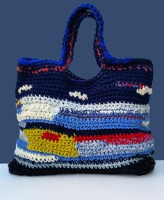 Check out this item in my Etsy shop https://www.etsy.com/listing/574910949/crochet-bag-yarn-bag-knitted-handbag
