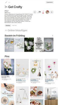 Pinterest Gruppenboard ✂ Get Crafty: Mach mit!