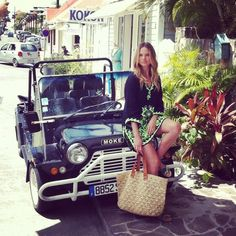 the streets of St. Barth...love being able to ride around in these little island cars--Mokes.  They also came with little canvas tops to protect you from the sun.
