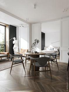 Apartment Interior, Home Interior, Interior Architecture, Home Design, Mug Design, Living Room Kitchen, Living Room Decor, Bedroom Decor, Dining Room