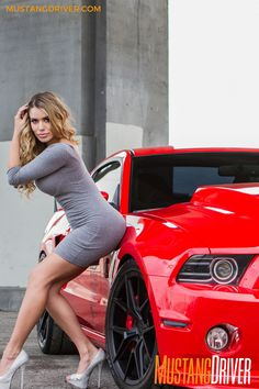 """We know what you're thinking: """"Hey, that's a 2013 Shelby, not a Red Mustang, Mustang Girl, Sexy Cars, Hot Cars, Motard Sexy, Best Cars For Women, Car Poses, Ford Girl, Custom Muscle Cars"""