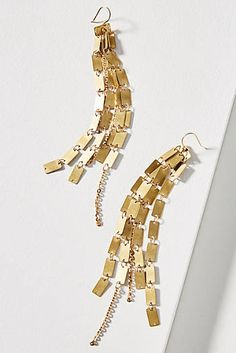 Square Cascade Drop Earrings