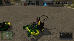 JOHN DEERE ZERO TURN CONVERTED FROM FS15 TO FS17 V1.3 LS17 - Farming Simulator 17 mod / FS 2017 mod