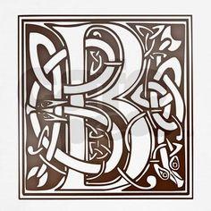 Celtic letter B