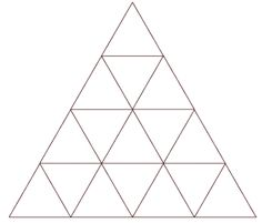 How many triangles do you see? Family Math Night, Grade 6 Math, Math Math, Math Tubs, Logic Puzzles, Number Puzzles, Math Help, Free Math, Teacher Hacks