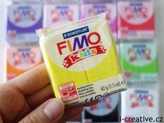 Novinka ve světě polymerových hmot - FIMO Kids, fimo pro děti