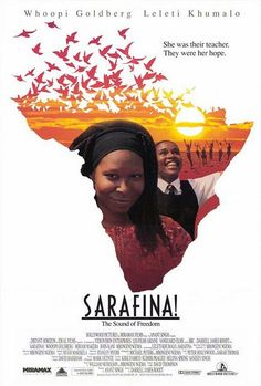 Sarafina! Sarafina! is a South African musical by Mbongeni Ngema depicting students involved in the Soweto Riots, in opposition to apartheid.