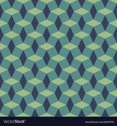 Seamless geometric pattern with diamonds vector image on VectorStock Diamond Vector, Adobe Illustrator, Squares, Vector Free, Dark Blue, Diamonds, Pdf, Quilts, Patterns