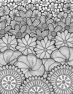 Original Zentangle inspired artwork by Cat Magness