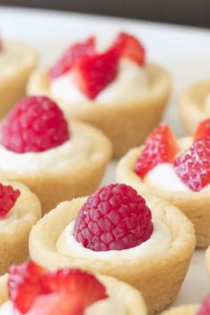 Maybe the best use for sugar cookies ever is holding insanely delicious ingredients, like cheesecake. Get the recipe from Lovely Little Kitchen.