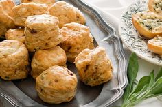 Caramelised onion and thyme scones main image