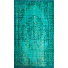 Shop Wayfair for nuLOOM Remade Turquoise Area Rug - Great Deals on all Decor products with the best selection to choose from!