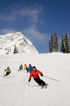 Fernie's Adult Clinics has a ski or snowboard program to meet your needs.  With an extensive selection of programs ensures that riders of all abilities and levels can push themselves to that next level.  Adult Clinics are for ages 13 and up. Photo: henrygeorgi.com Alpine Skiing, Snow Skiing, Ski And Snowboard, Snowboarding, Mountain Resort, Winter Sports, Cross Country, Winter Wonderland, Clinic