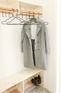 Make Way for Fall Clothes: Wardrobe Storage Solutions to DIY - beautiful finishes and easy to do